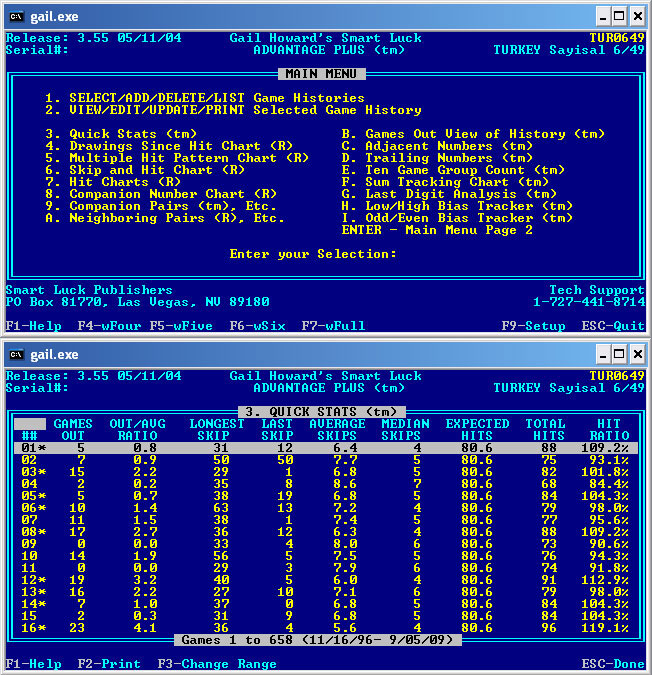 Advantage Gold Main Window and Chart 3 Screenshot
