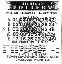 Lonnis and Janice Eavey's Winning Lottery Ticket