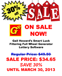30% off FFWG Lotto Software Sale