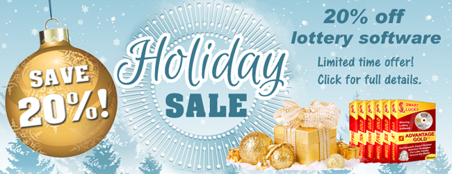lotto software discount sale black friday holiday 2016