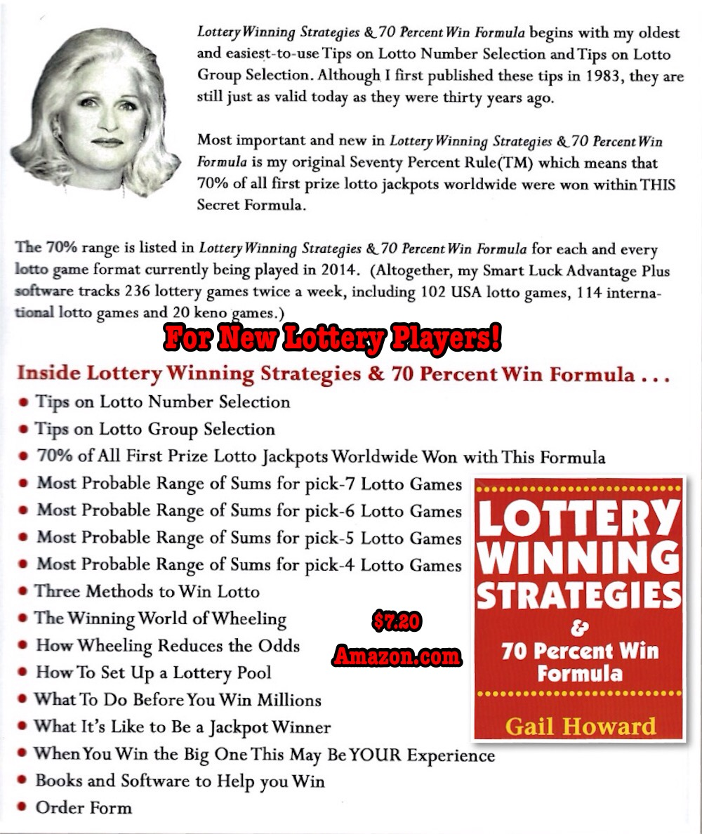 strategy for winning lottery