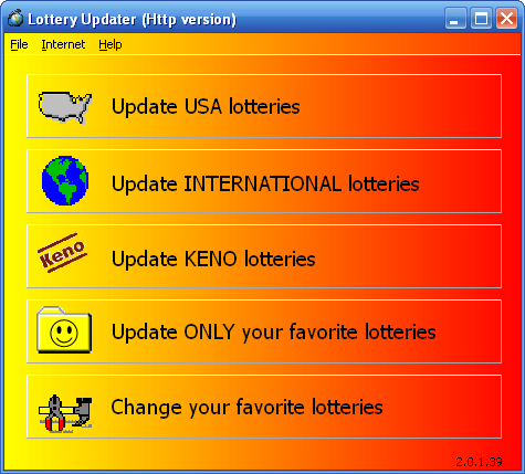 Lottery Updater's New Look
