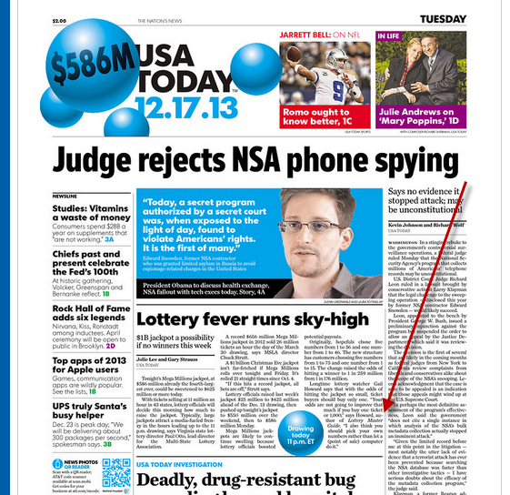 Gail Howard in Front Page Article of USA Today
