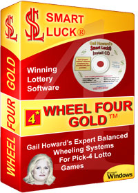 Wheel Four Gold