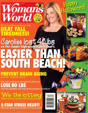 Gail Howard Article in Womans World October 2012