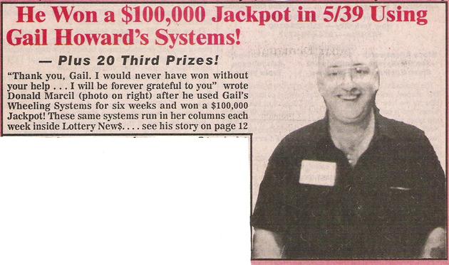 Michigan Lottery Jackpot Winners: $100,000 JACKPOT WON IN