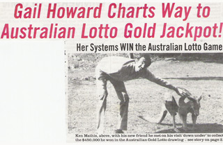 Australia Lotto Winner
