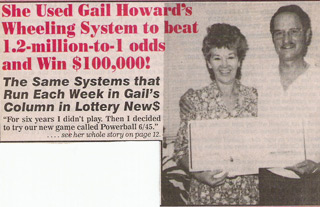 Gail Howard Powerball Winner