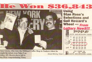 New York Lotto Winner