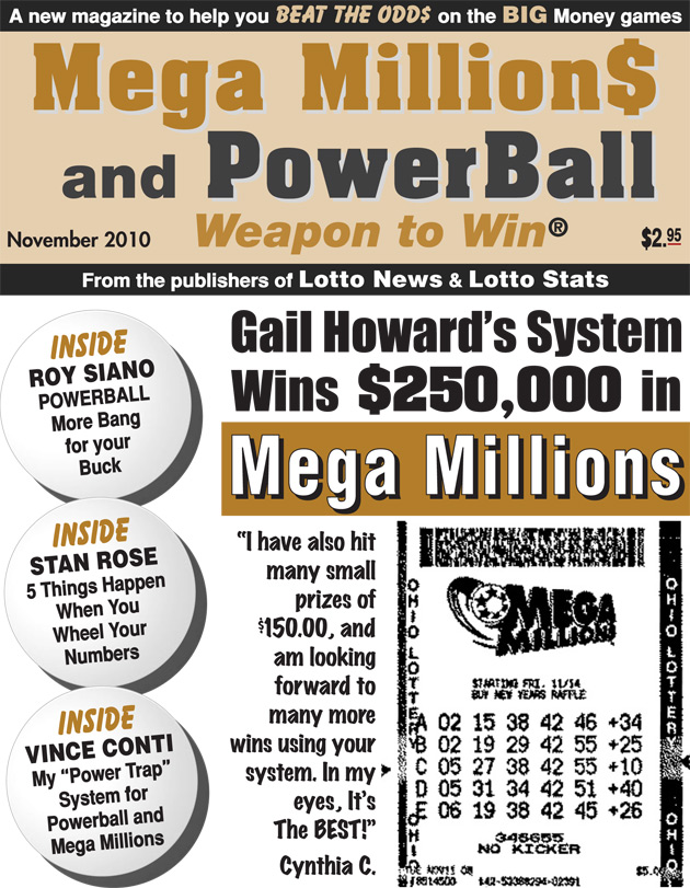 Mega Millions Lottery Winner