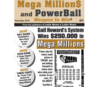 Mega Millions Lottery Winner uses Gail Howard's systems and strategies to win.