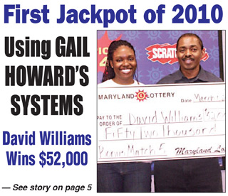 Maryland Lotto Winner