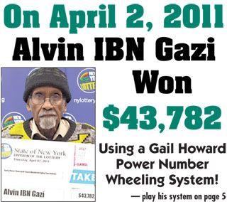 Gail Howard Jackpot winner