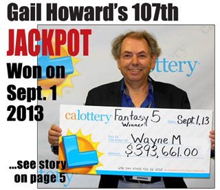 Gail Howard Lottery Winner 2013