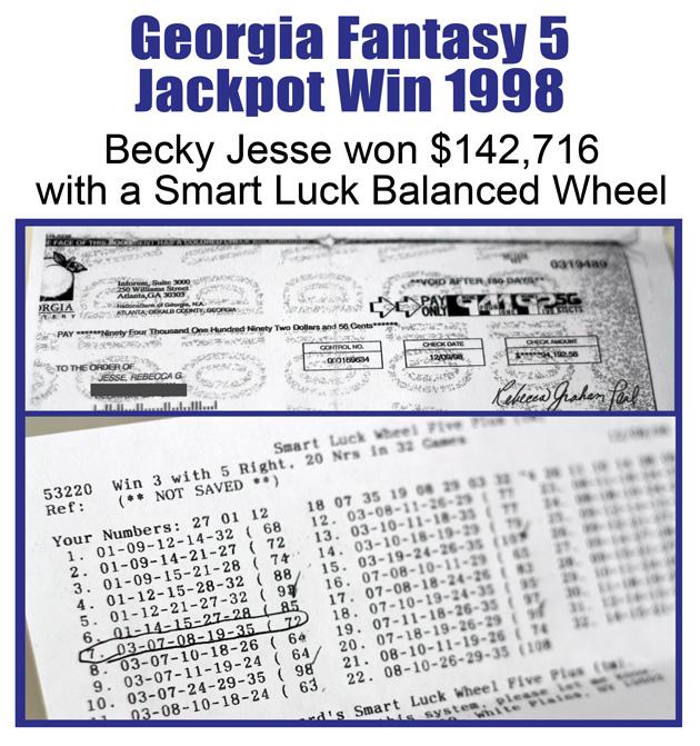lottery jackpot winner